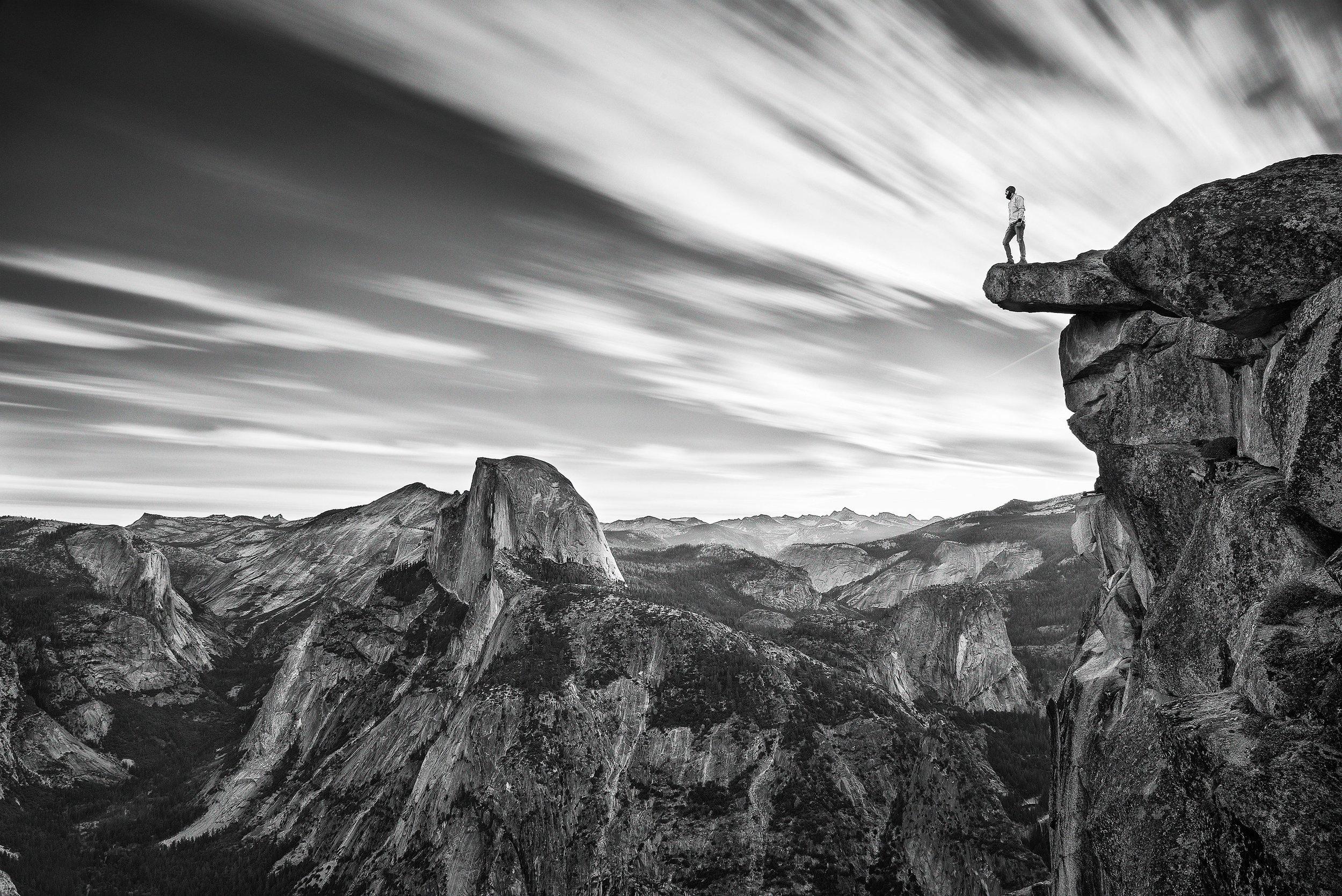 austin-trigg-yosemite-national-park-Glacier-Point-half-dome-valley-long-exposure-balck-white-cliff.jpg
