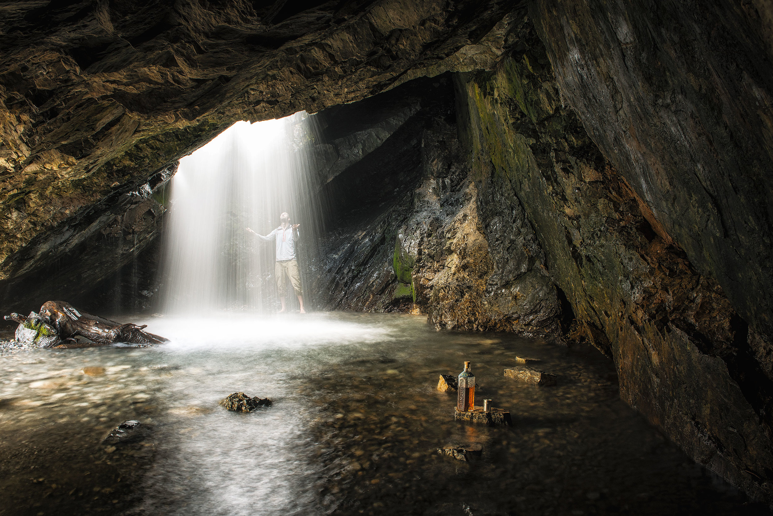 austin-trigg-whiskey-lifestyle-zion-product-TINCUP-Donut-Falls-waterfall-cave.jpg