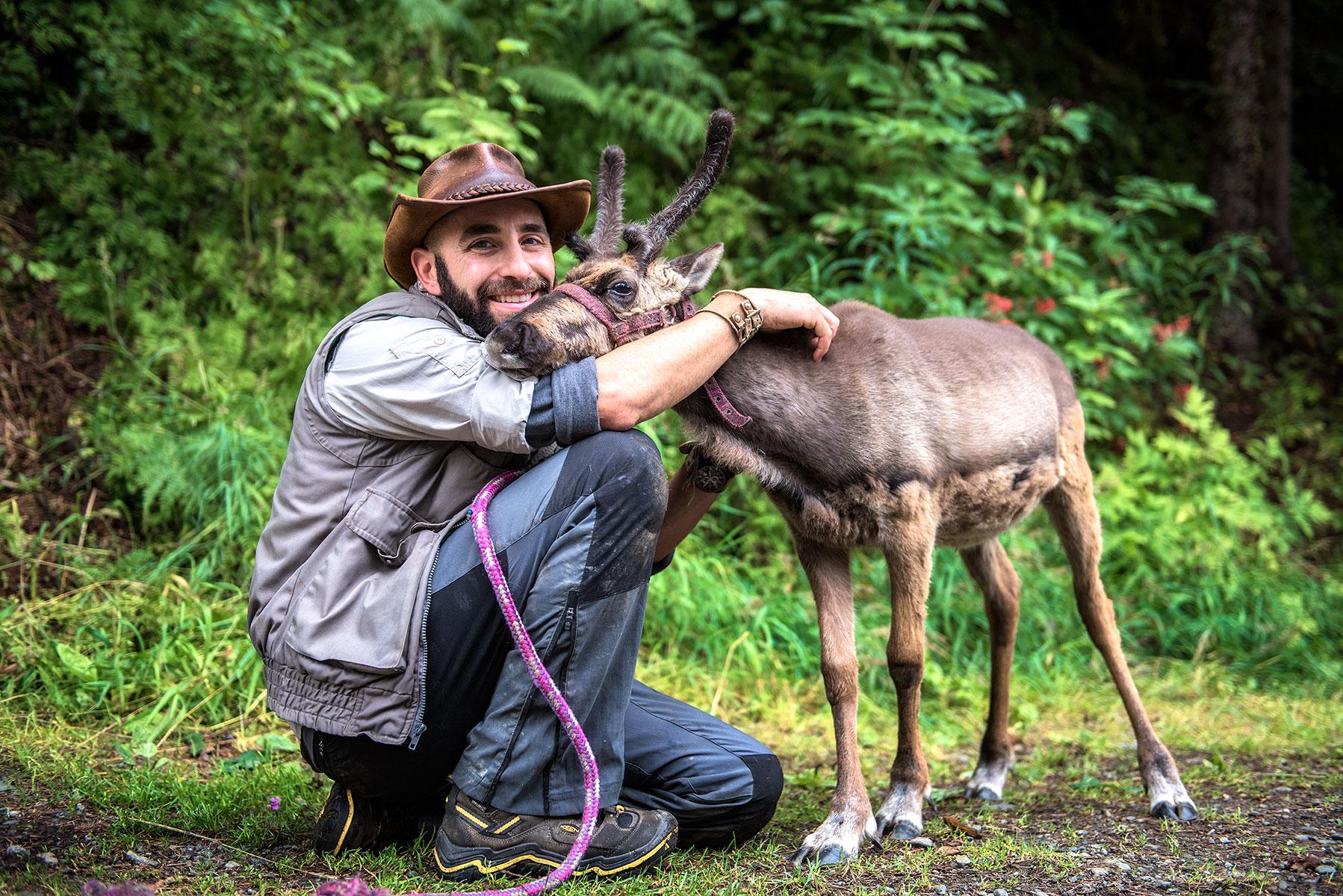 austin-trigg-brave-wilderness-alaska-BW-Coyote-Hold-Reindeer.jpg