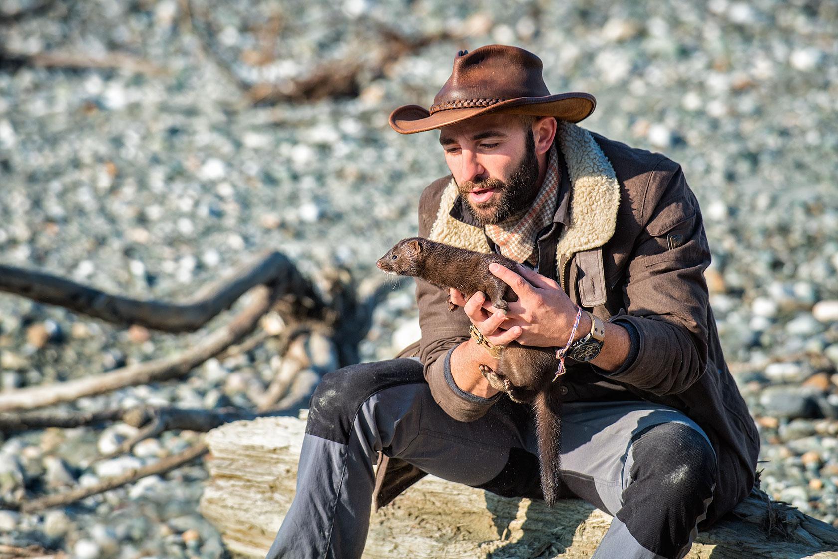 austin-trigg-brave-wilderness-alaska-BW-Coyote-Holds-Mink.jpg