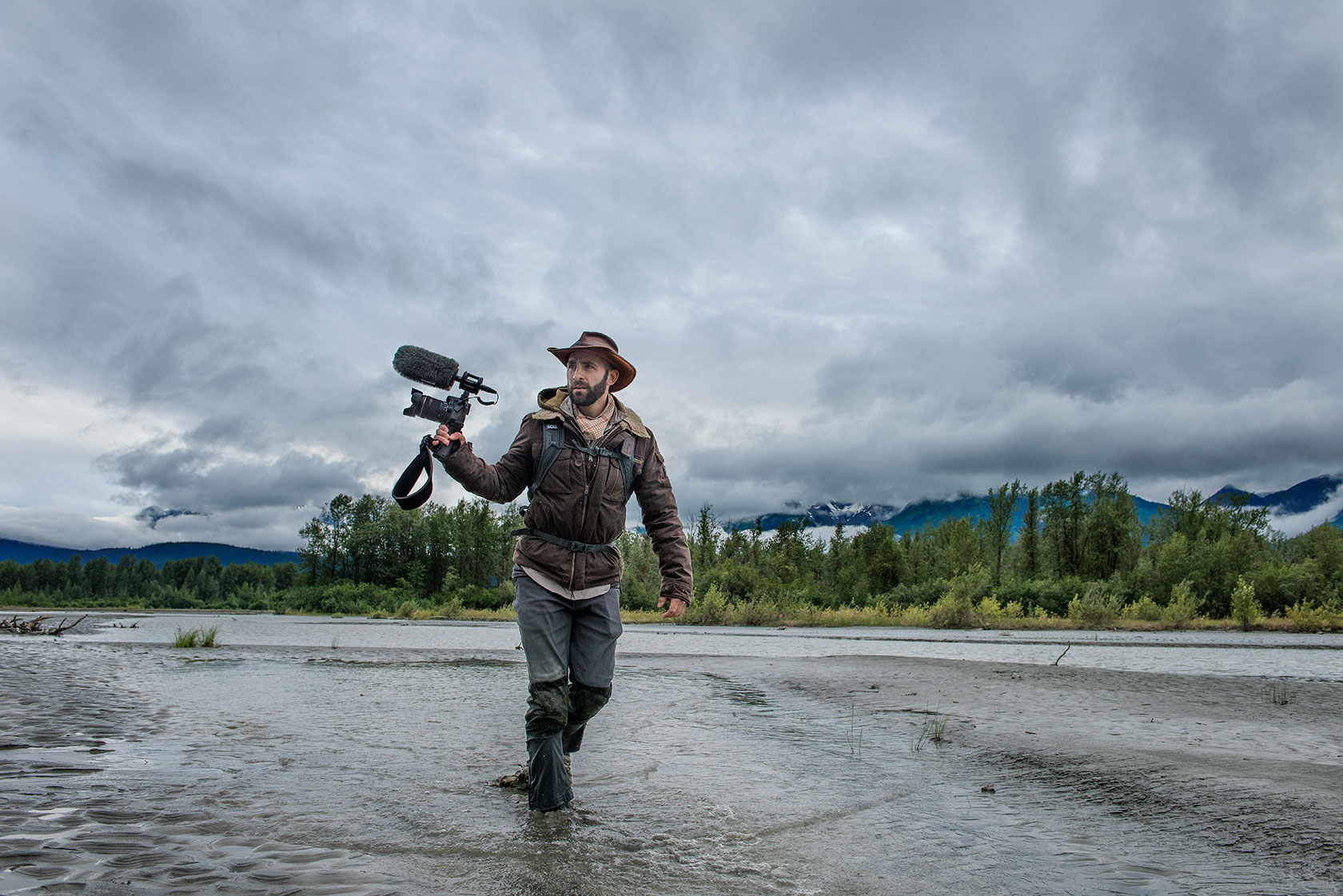 austin-trigg-brave-wilderness-alaska-BW-Coyote-Walks-River-mud.jpg