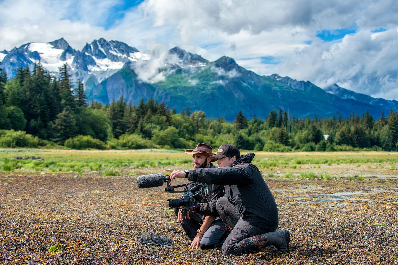 austin-trigg-brave-wilderness-alaska-BW-Mark-Coyote-Discuss-Mud-Bay.jpg