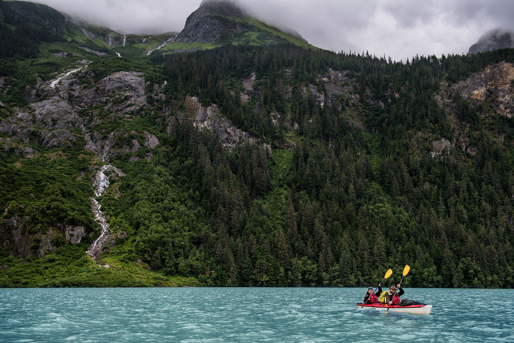 austin-trigg-brave-wilderness-alaska-BW-Mark-Coyote-kayak-Chilkoot-Lake.jpg