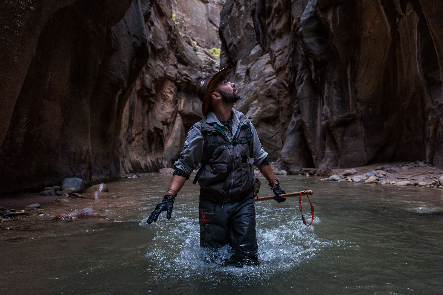 austin-trigg-brave-wilderness-utah-zion-Coyote-peterson-hikes-Narrows-canyon-river-walls.jpg