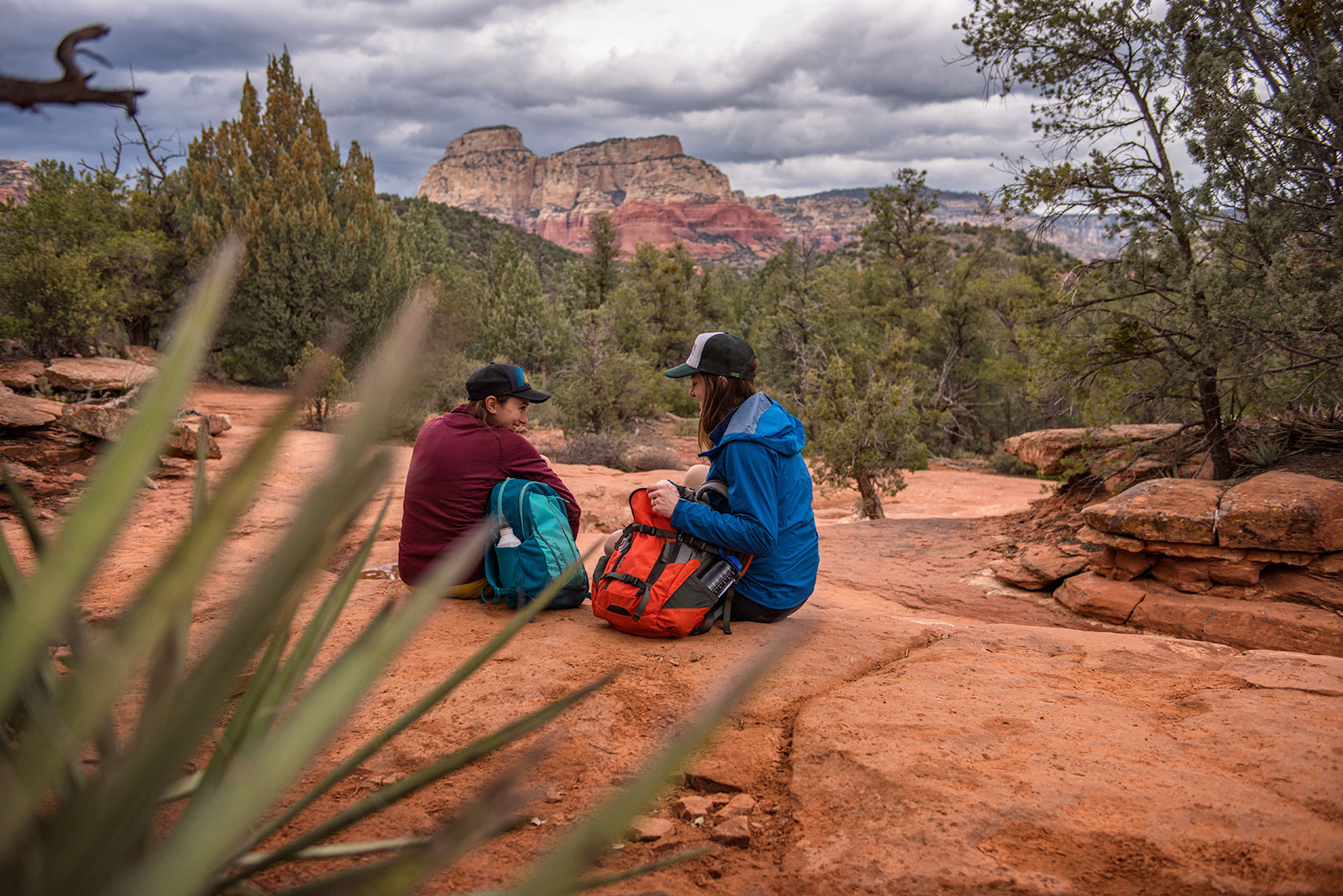 austin-trigg-patagonia-day-pack-arizona-sedona-desert-lifestle-product-backpack-adventure-hiking-weather-clouds-canyon.jpg