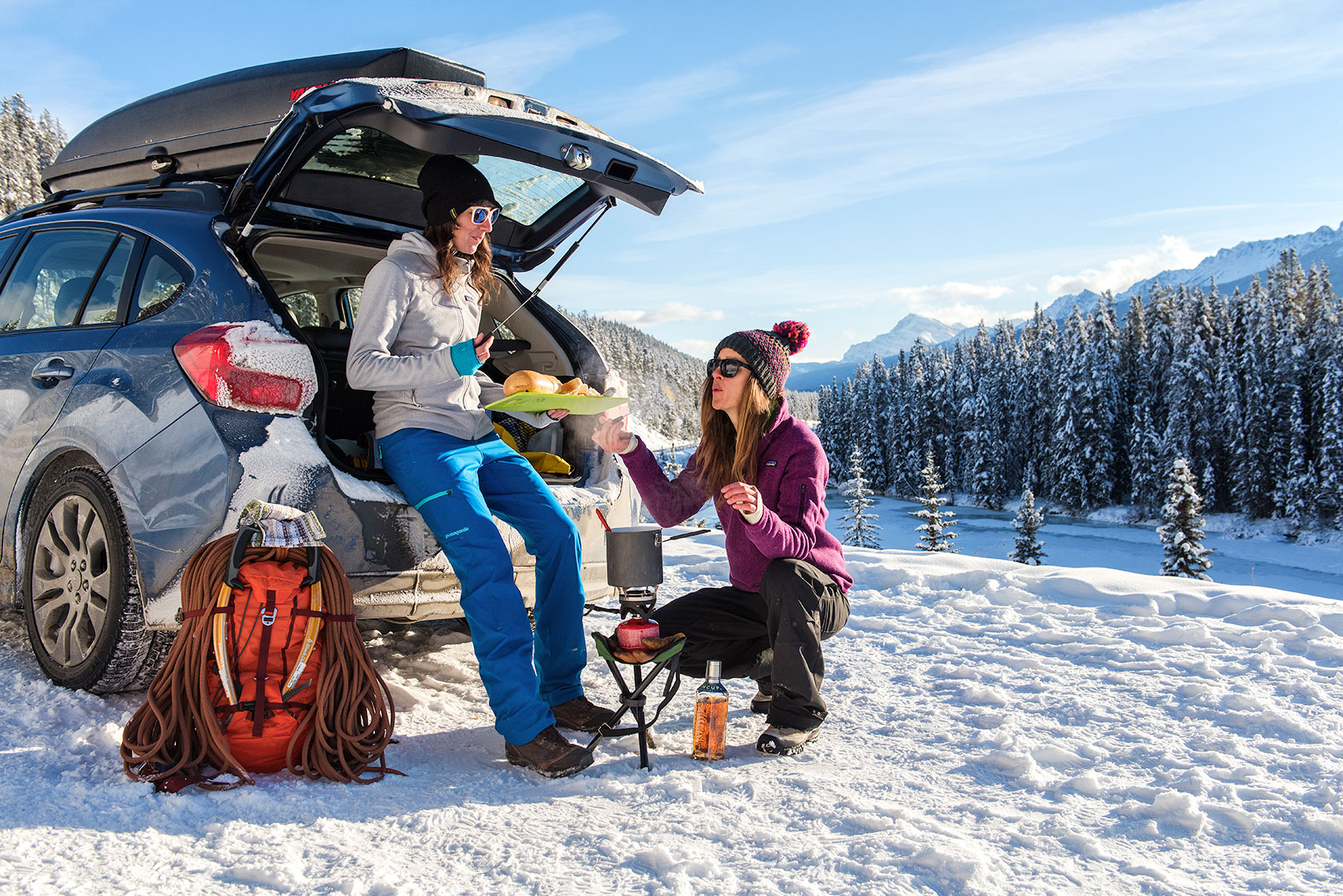 austin-trigg-patagonia-banff-alberta-winter-canada-trip-adventure-outside-snow-forest-morants-curve-fondue-roadside-cooking-car-lifestyle.jpg