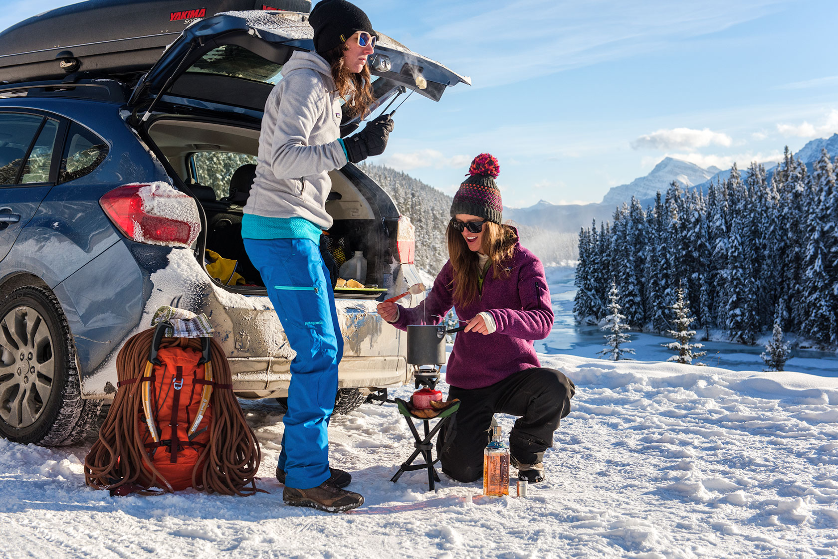 austin-trigg-patagonia-banff-alberta-winter-canada-trip-adventure-outside-snow-forest-morants-curve-fondue-roadside-cooking-mountain-ice-climbing-product-lifestyle.jpg