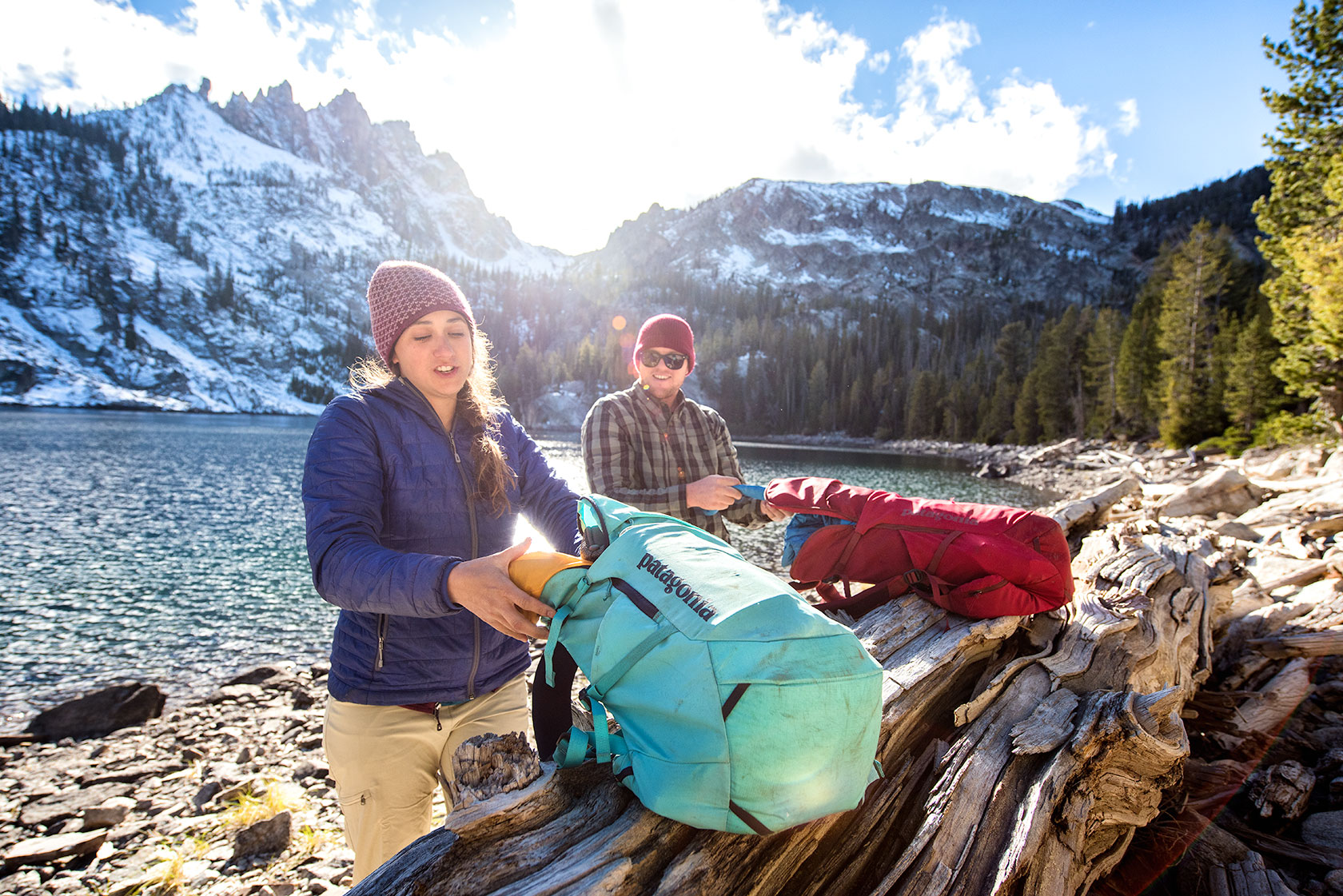 austin-trigg-patagonia-sawtooth-hiking-bench-lake-sunset-sun-flare-backpacks-advenure-wilderness-forest-idaho-outside-lifestyle-day-fall-weather-mountains.jpg