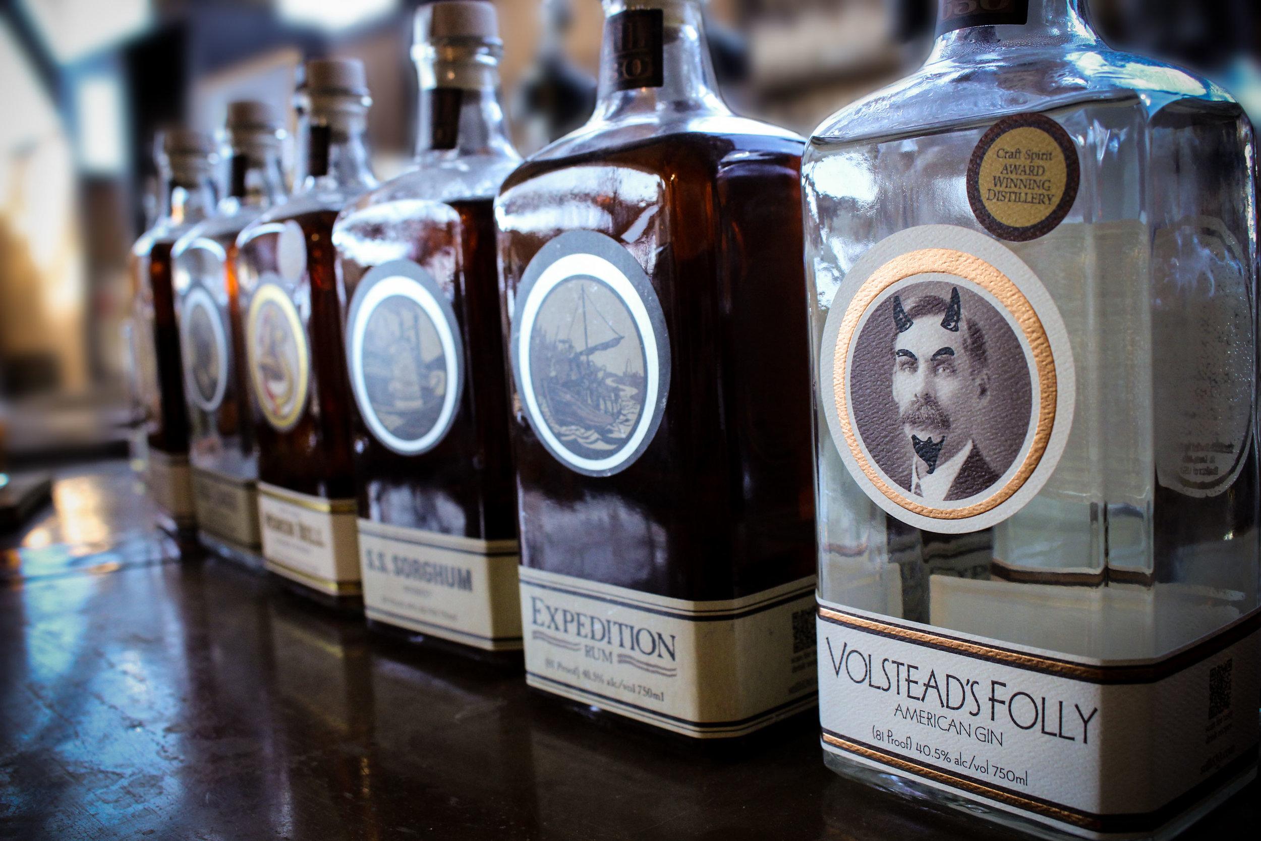 Craft Distilled Spirits - Small Batch • High Quality