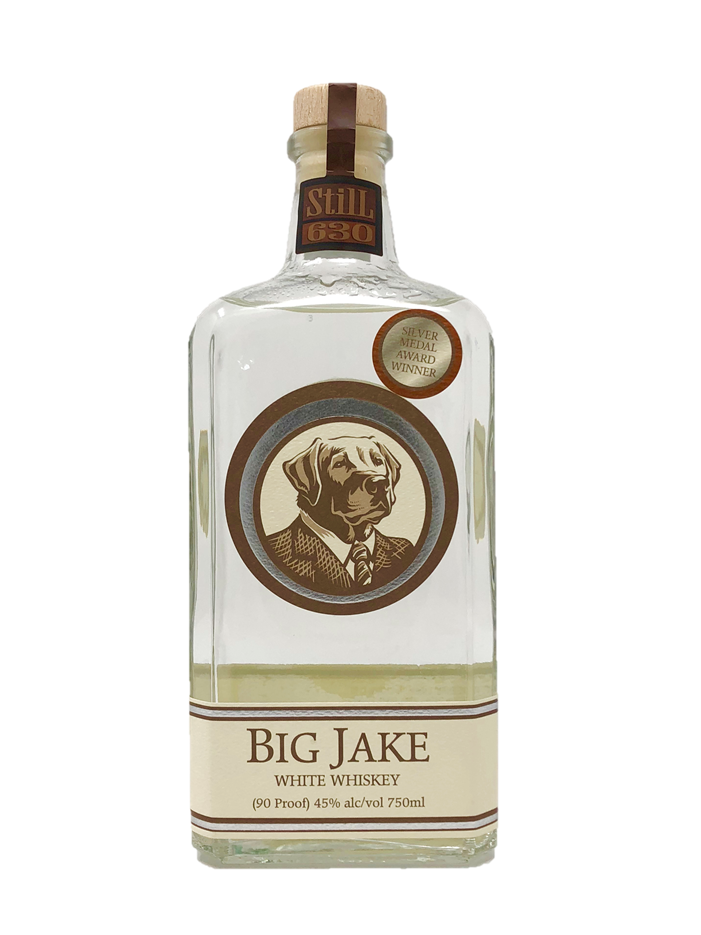 Big Jake White Whiskey - ADI 2018 BronzeADI 2017 Silver