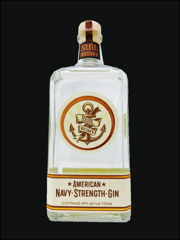 American navy strength gin - 2018 Washington Cup Winner
