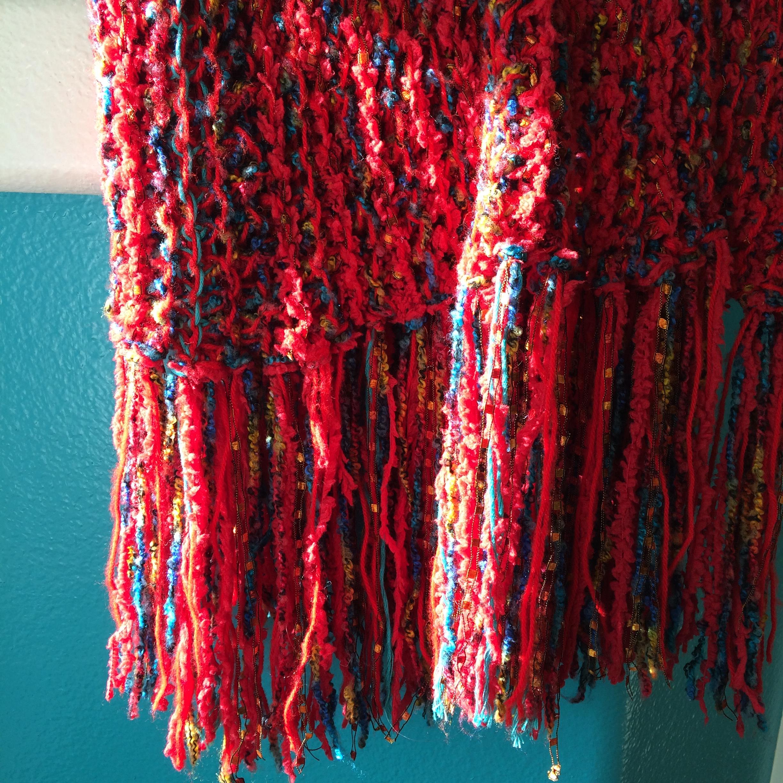 Isis shawl from  The Knitting Goddess  by Deborah Goodman