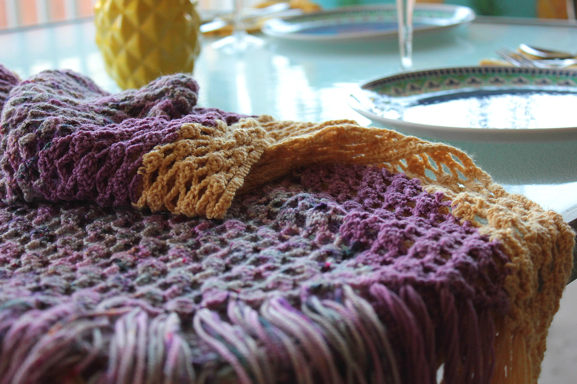 Brunch on the Patio Shawl