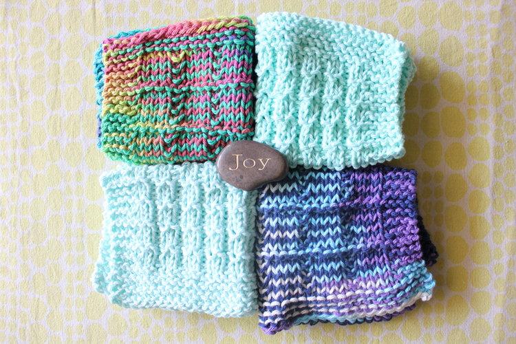 waffle stitch dishcloth pattern