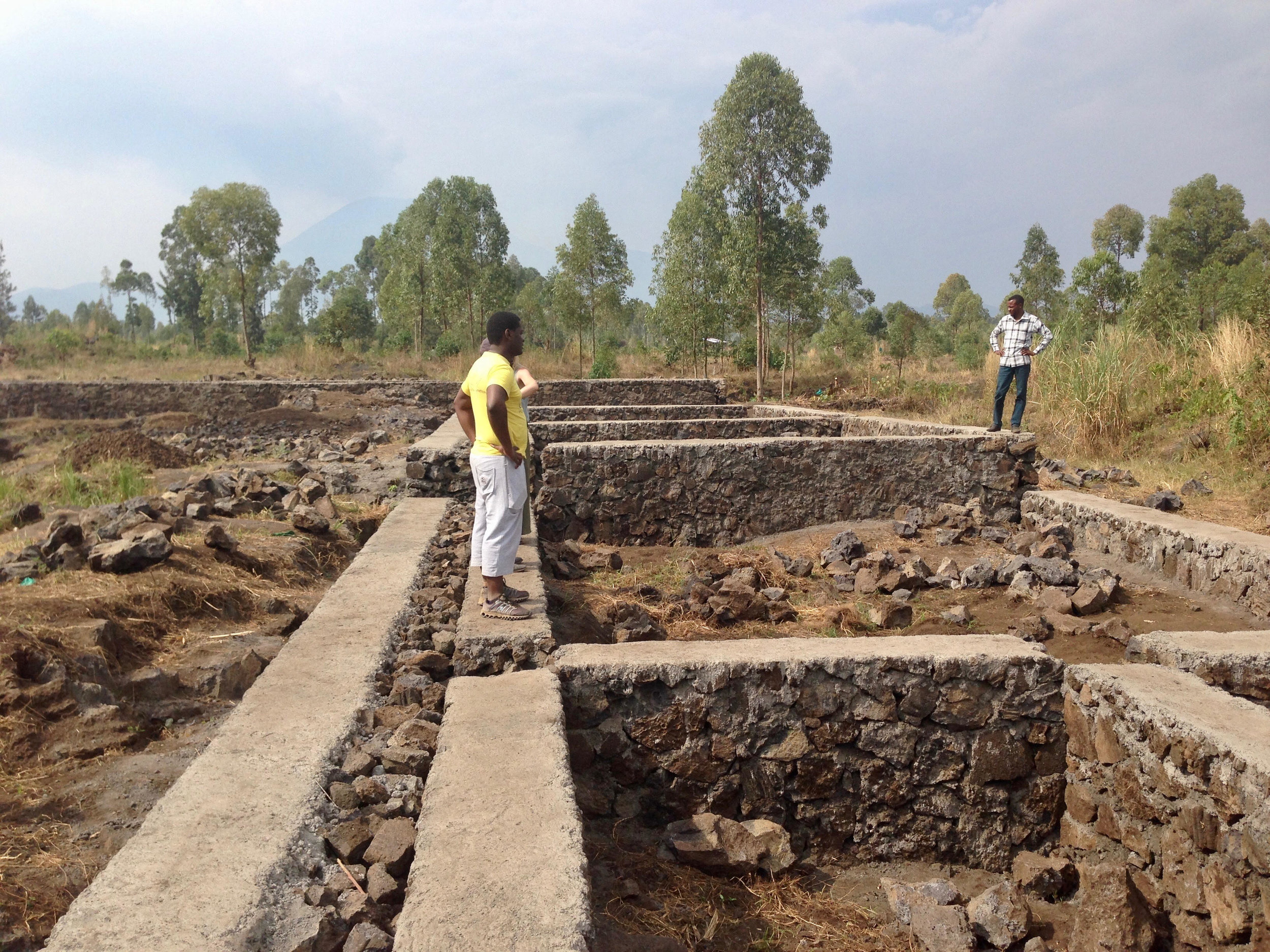 Before: Foundation for Mwamini's school