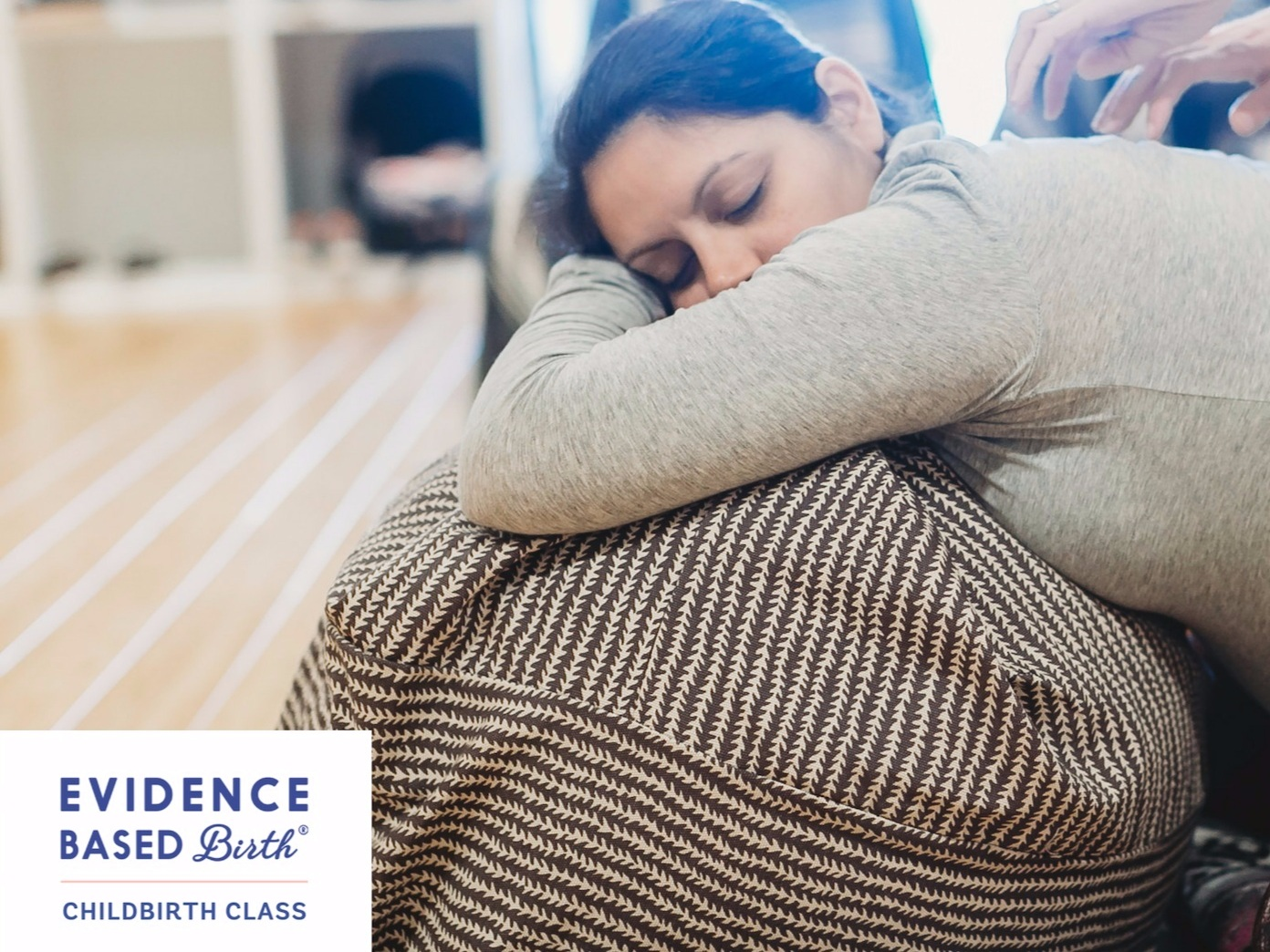 Evidence Based Birth® Childbirth Class - Get Empowered with a class that you and your partner will love! In this unique online and in person hybrid course, you and your partner will benefit from the convenience of online learning and also be mentored through the process of preparing for your birth as well as meeting other people who are going through the same thing!