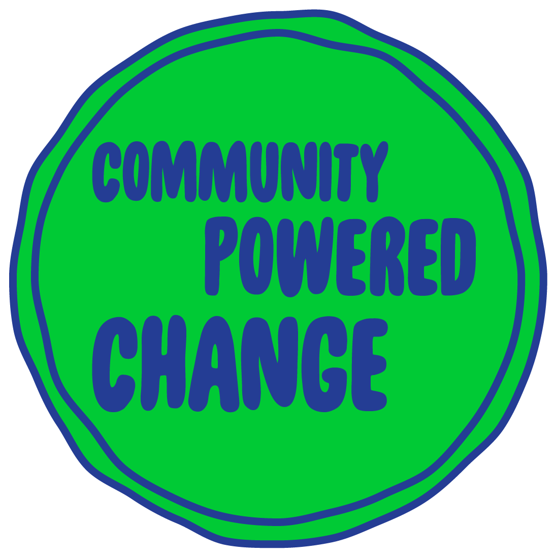 Community Powered Change logo