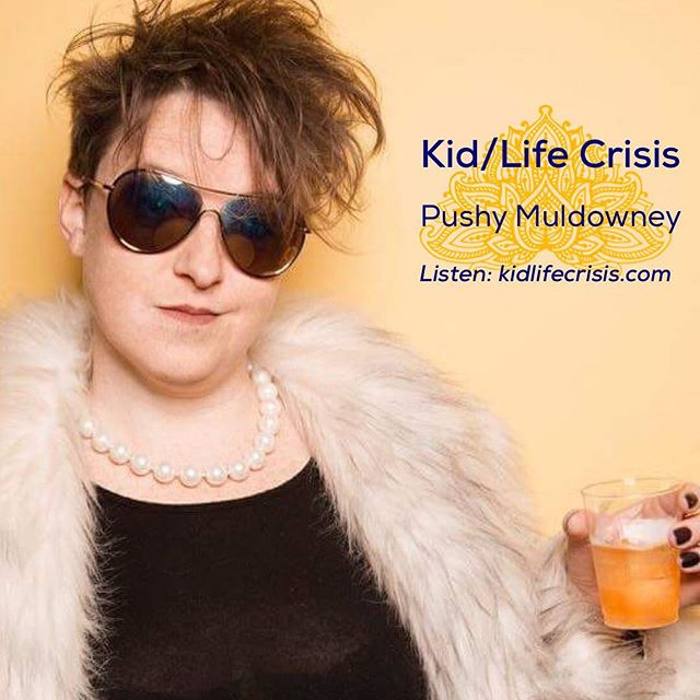 NEW episode with @pushy_muldowney talking about #rollerderby, grad school, #thedress and dogs of science. Find us on iTunes or #linkinbio! 📸: @withreservation . . . . . . . . . #kidlifecrisis #podcast #parenting #parenthood #babies #gradschool #nokids #childfree #family #kidlife #kidfree #motherhood #vasectomy