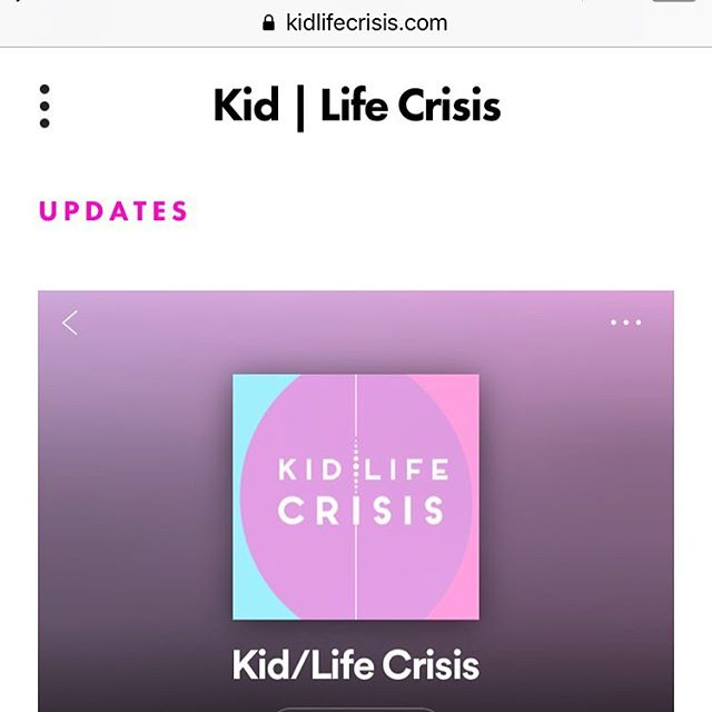 Hi, listeners! We've got new episodes coming out later this month— and we updated our website with all our episodes to date. Link in bio, check it out! . . . . . . #kidlifecrisis #podcast #podcasts #squarespace #kids #havingkids #childfree