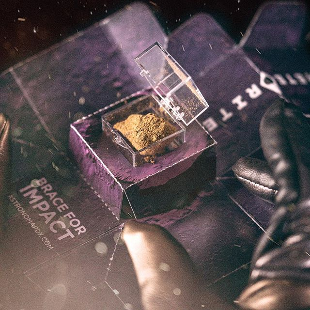 An experience that is out of this world. Check the link in our bio to find a launch site near you. . . . . . #meteorite #spaceporn #weedporn #weedlife #moonrocks