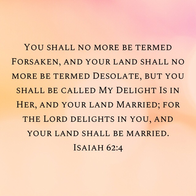 """Beulah means means """"Married (to the Lord)"""" and """"blessed / favored by the Lord."""""""