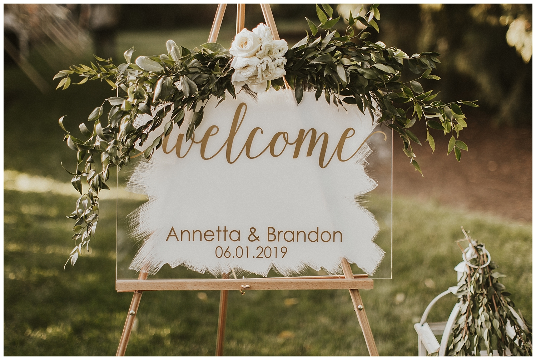 Washington Garden Wedding