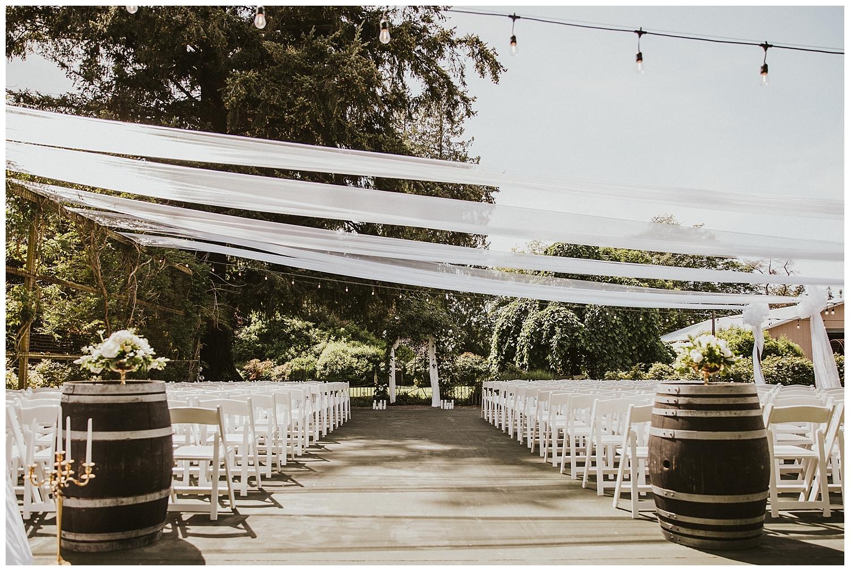 Outdoor Washington Garden Wedding