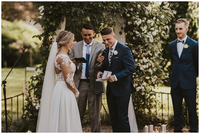 Intimate Washington Garden Wedding