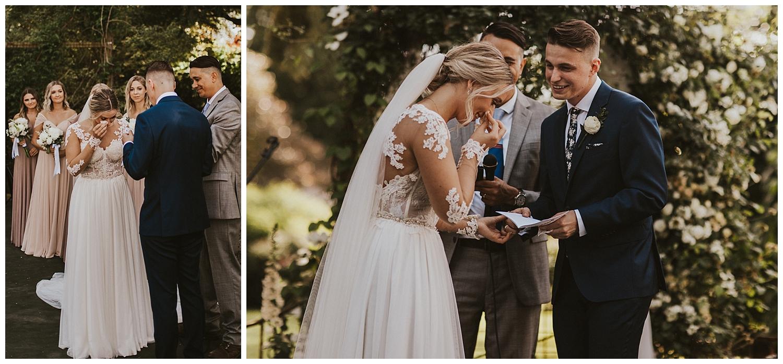 Stepping Stones Garden Wedding Washington