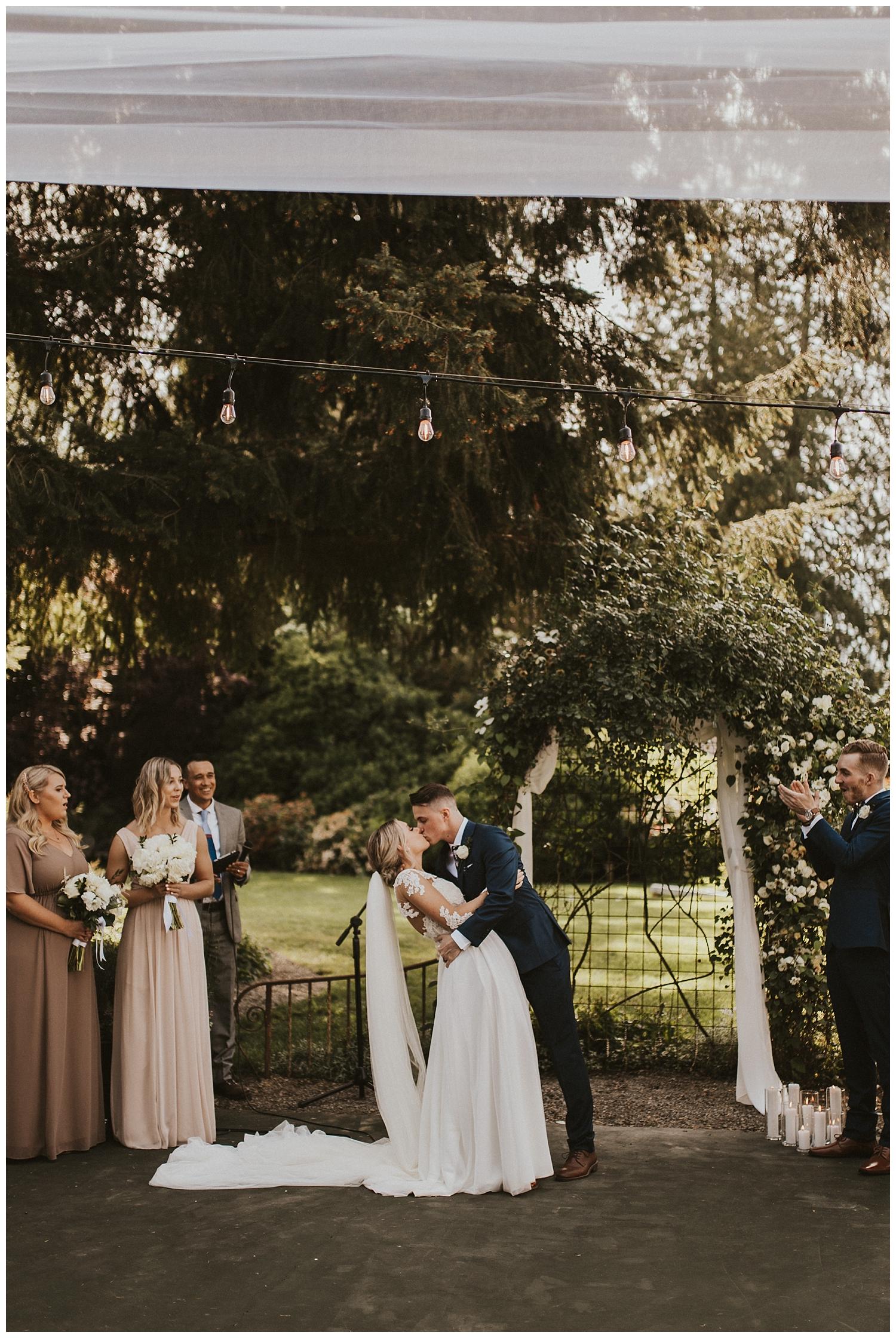 Washington Wedding Ceremony