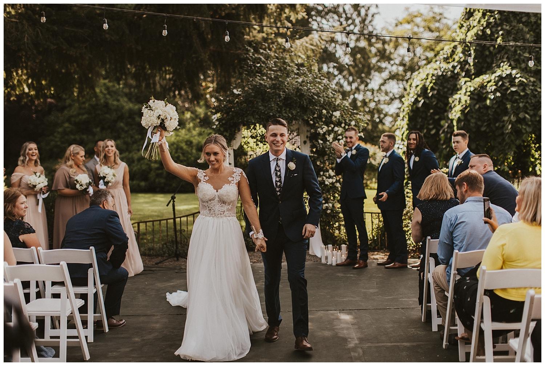 Stepping Stones Garden Wedding