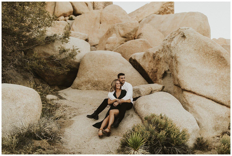 Joshua Tree Engagement Leah Matt Mariana Tey Photography