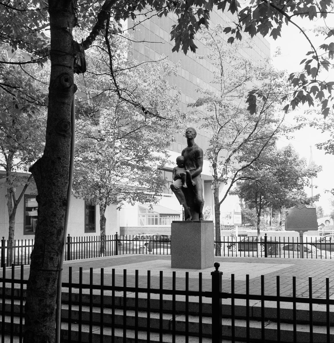 Bishop Peter Spencer Memorial and Grave, Wilmington, Delaware, 2006
