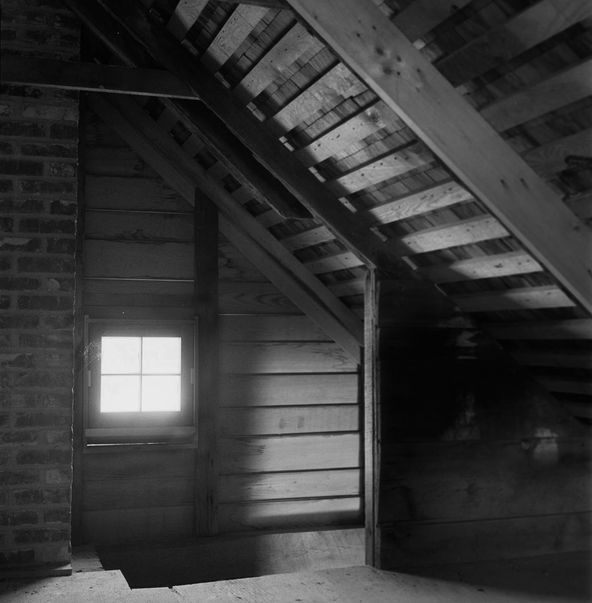 Second Floor Interior, Slave Cabin,  Maryland, 2008