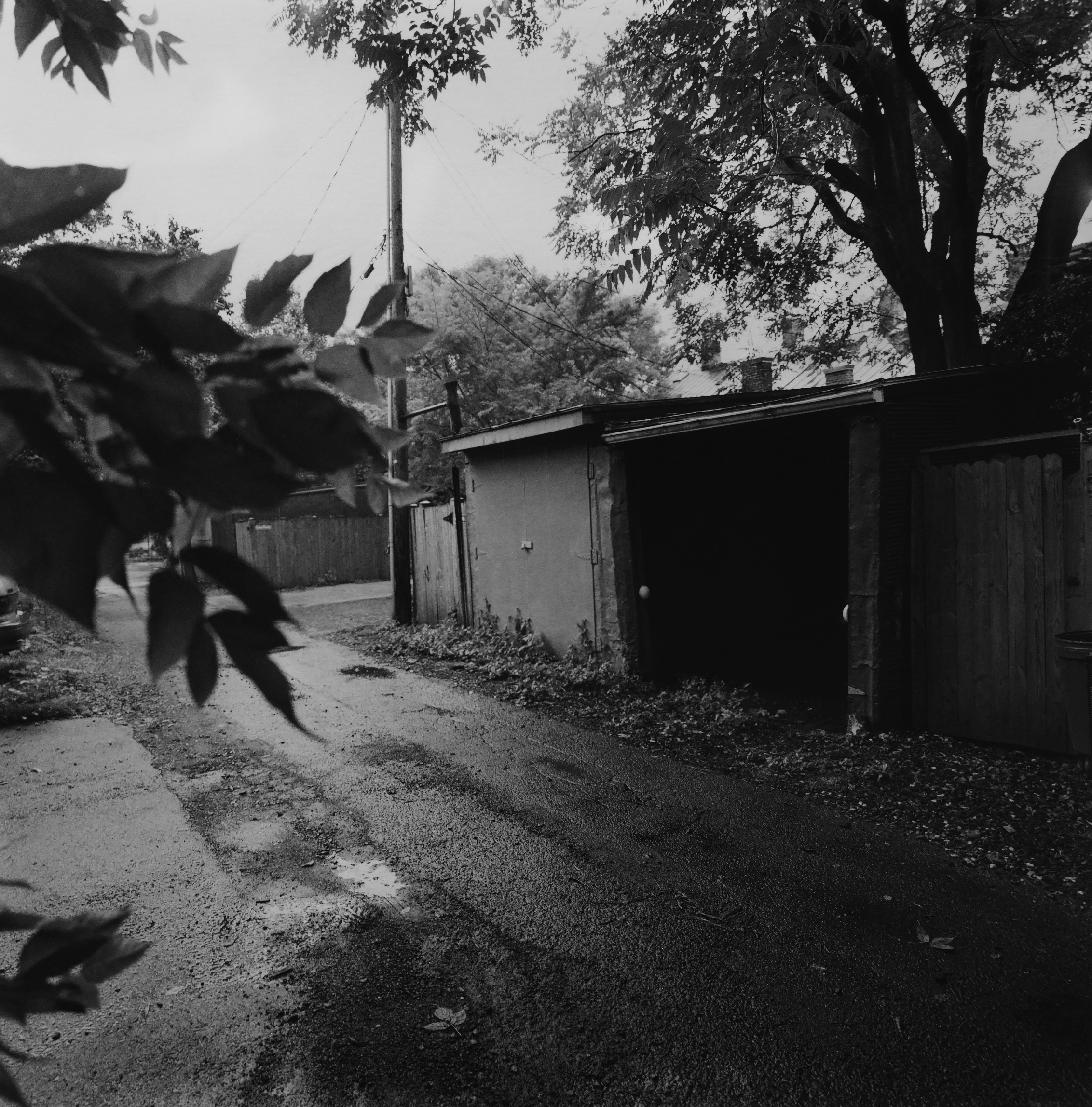 Alley, from the rear of Franklin and Armfield Slave Traders, Alexandria, Virginia, 2004