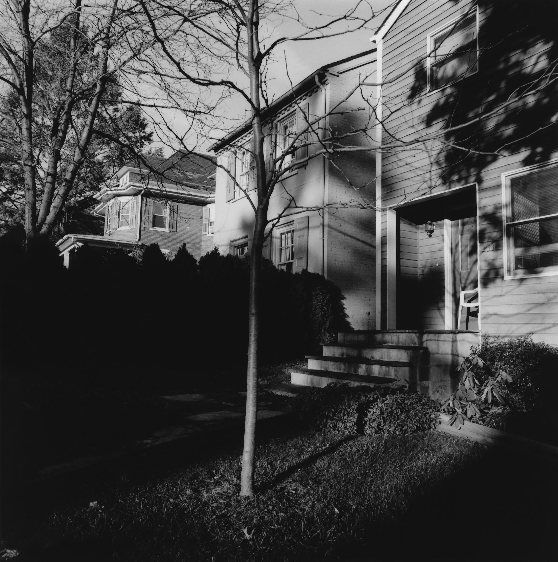 Rear of James Walker House Site, Kennett Square. Pennsylvania 1998