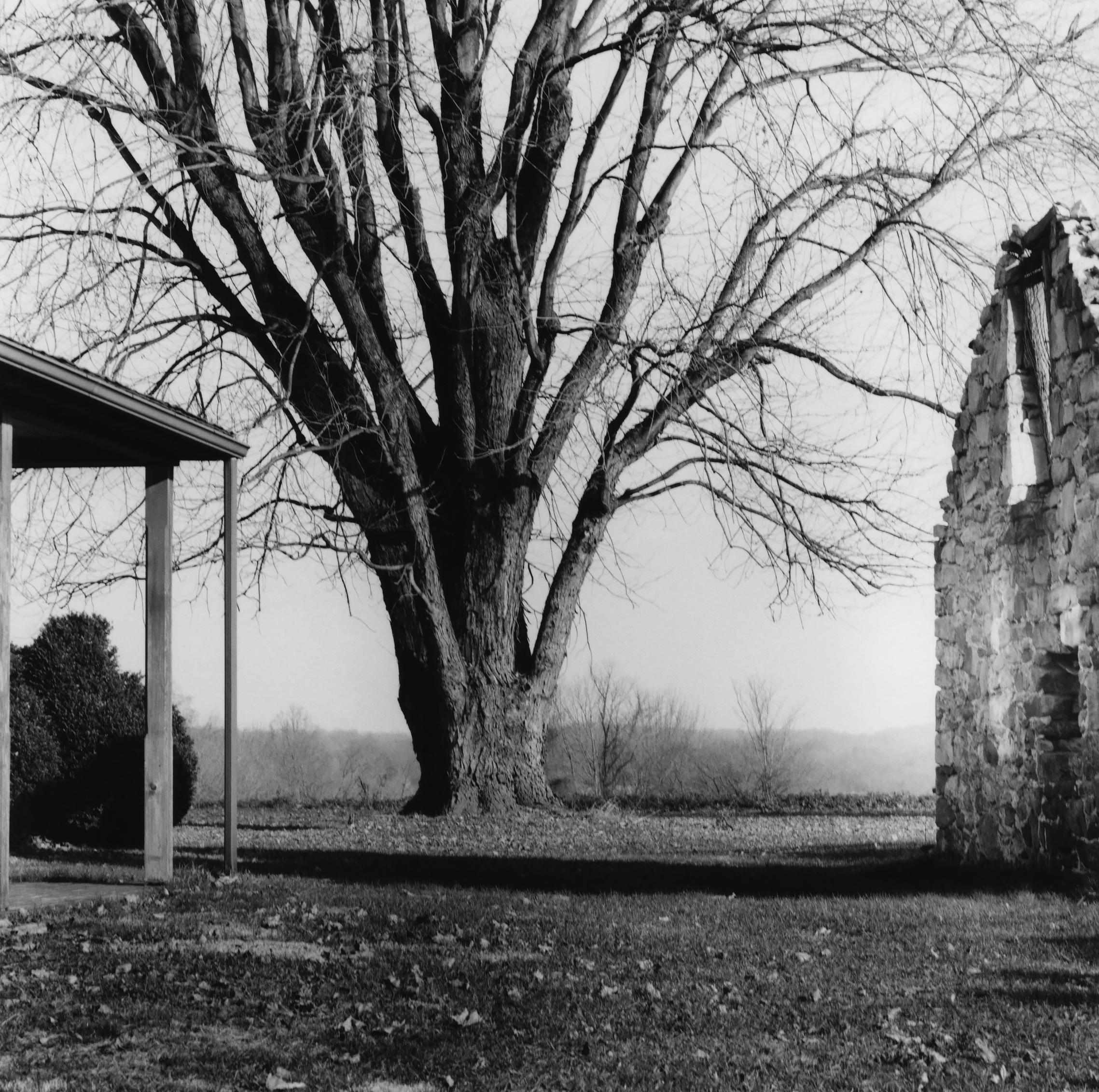 Wagontown Inn, House and Ruins of Barn, Wagontown, Pennsylvania, 1998