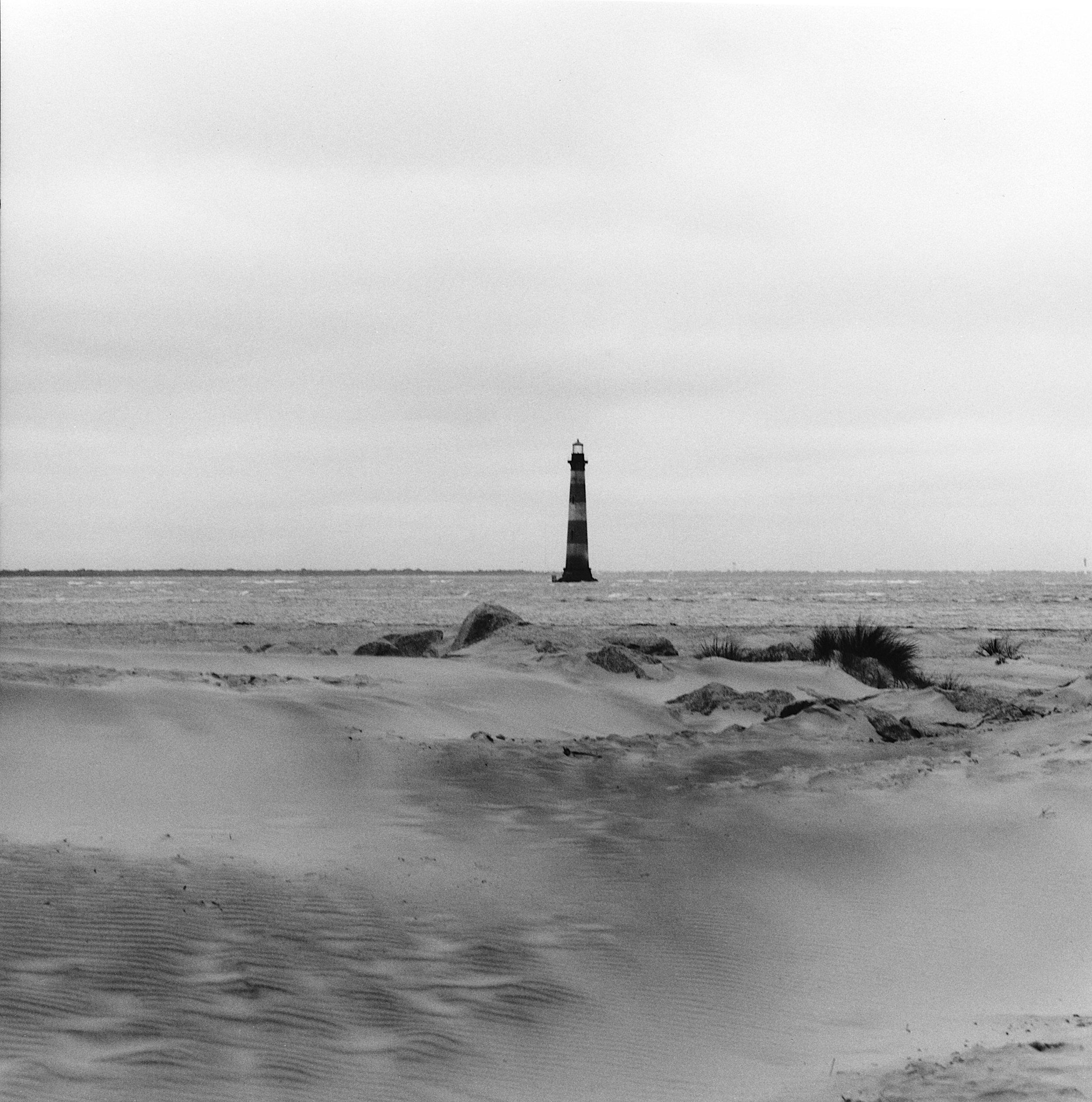 James Island looking towards Morris Island, 1999