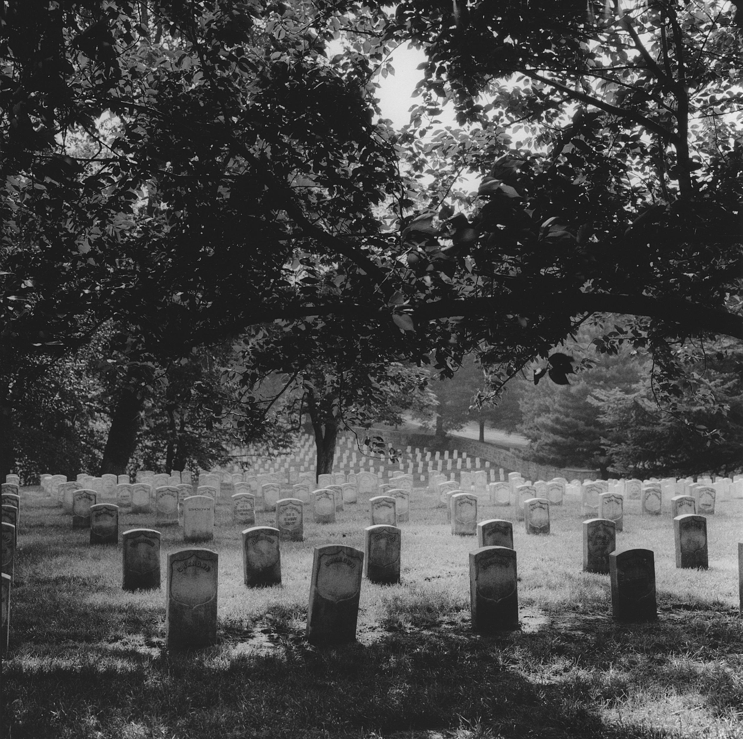 Arlington National Cemetery, Section 27, Arlington, Virginia, 2000