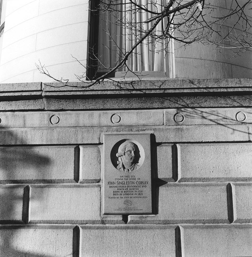 Copley Monument, Beacon Street, Boston, Massachusetts, 2015
