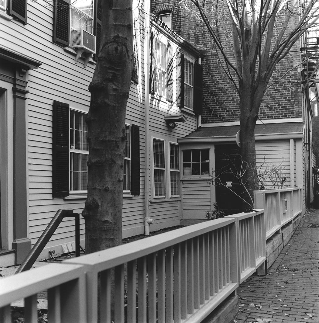 William Nell House, Detail, Beacon Hill, Boston, Massachusetts, 2015