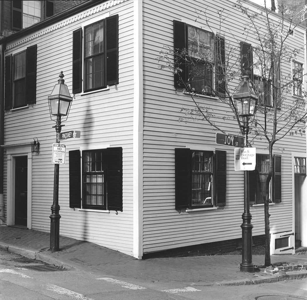 House, Pinckney and Joy Street, Beacon Hill, UGRR Station, Boston, Massachusetts, 2015