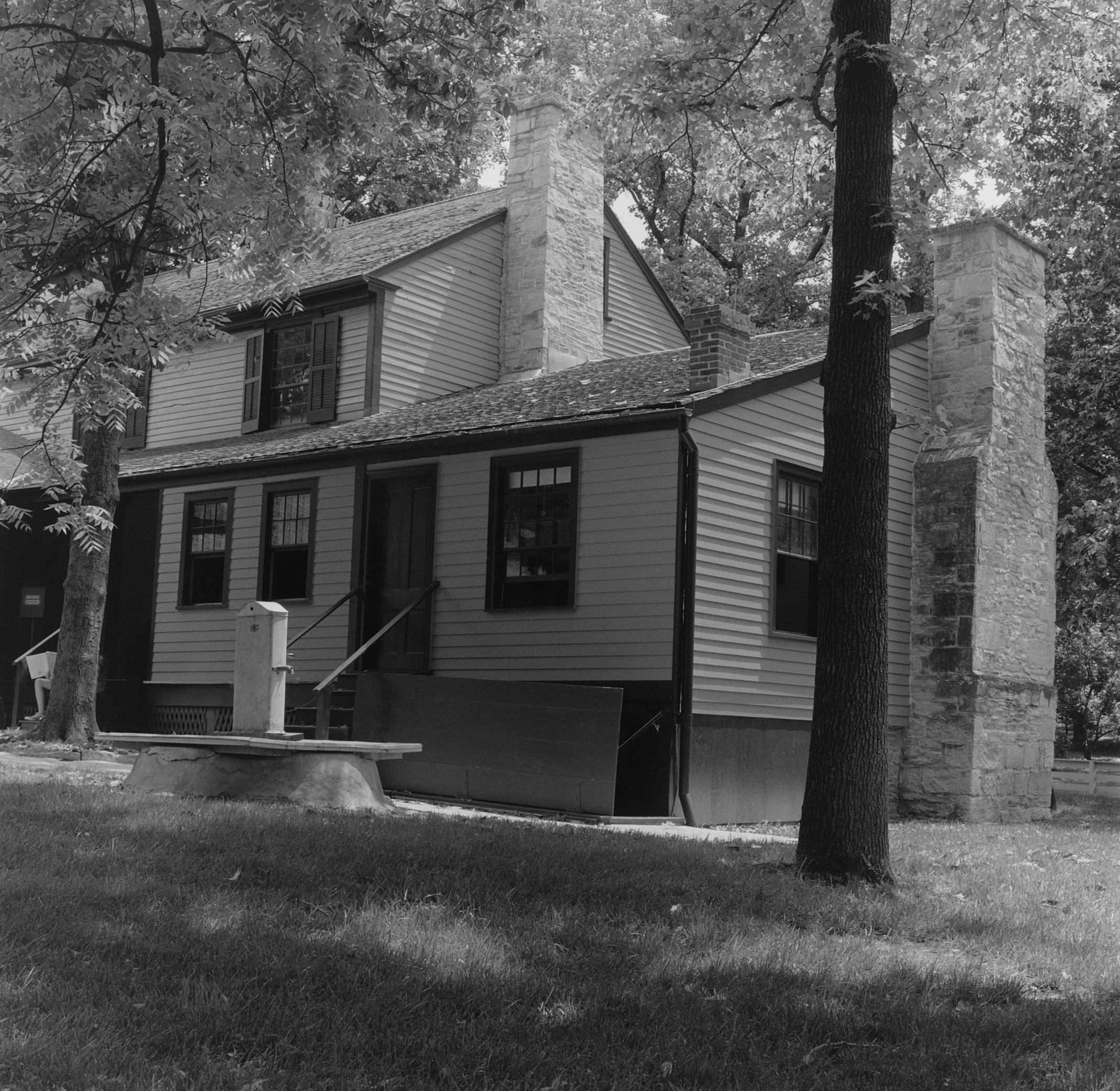 US Grant's Farm, Exterior with Kitchen, St. Louis, Missouri, 2010