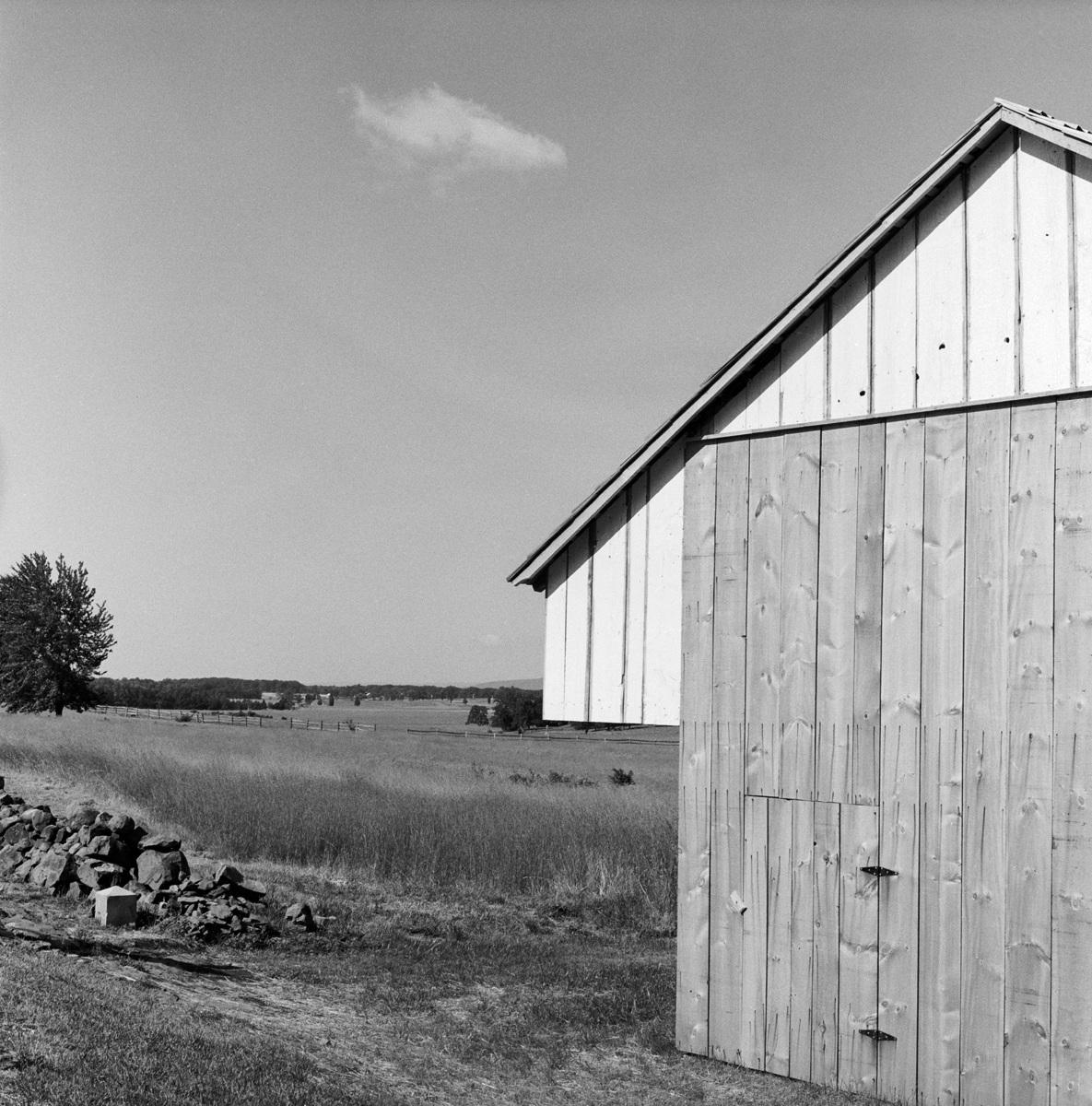 Abraham Brian Barn, Gettysburg National Military Park, Gettysburg, PA 1986