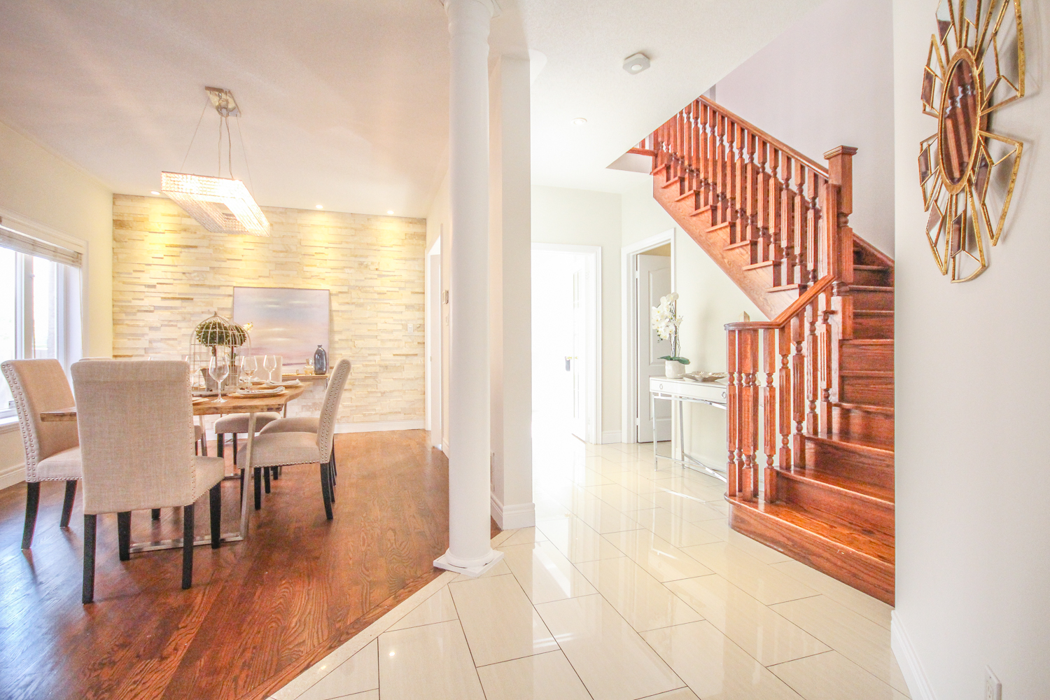 Michelle Vaughan Maple luxury home staging luxury home stager   Classy Glam Staging 1