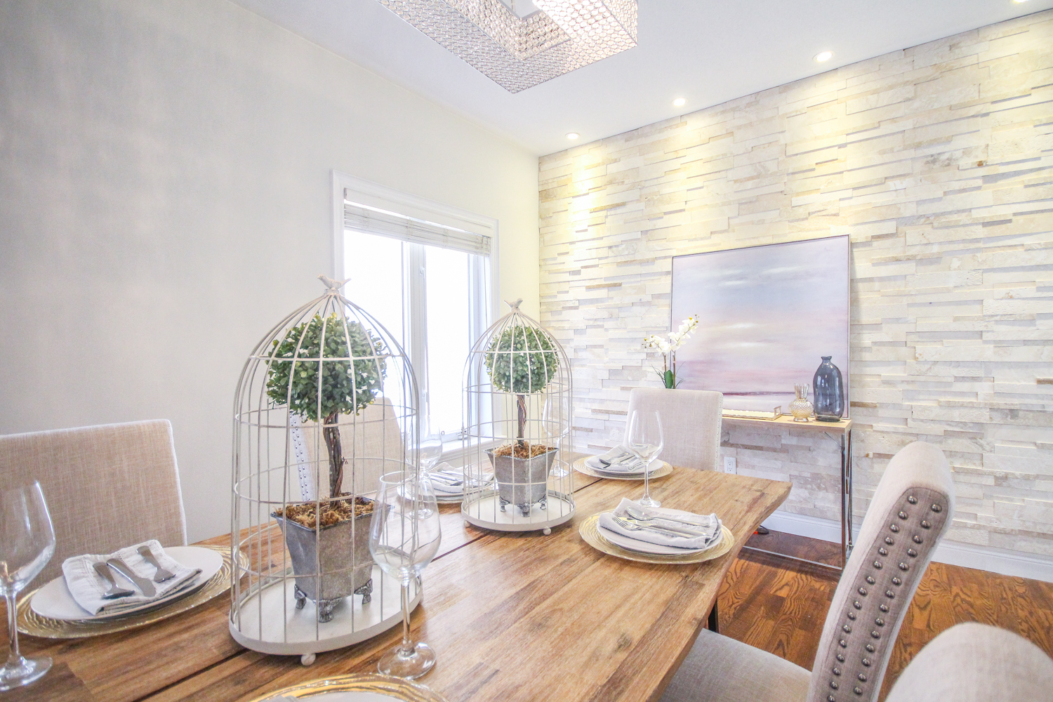 Michelle Vaughan Maple luxury home staging luxury home stager   Classy Glam Staging 3