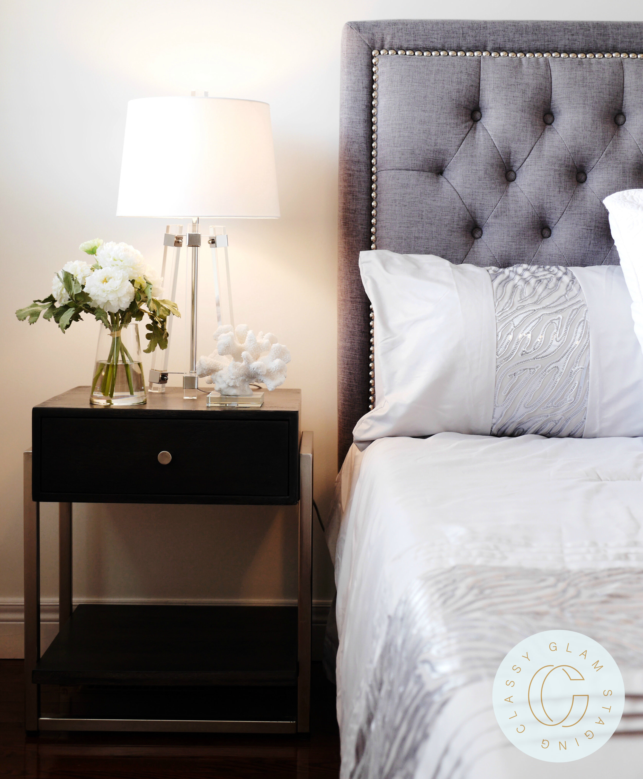 Michelle Vaughan Maple luxury home staging luxury home stager   Classy Glam Staging 8