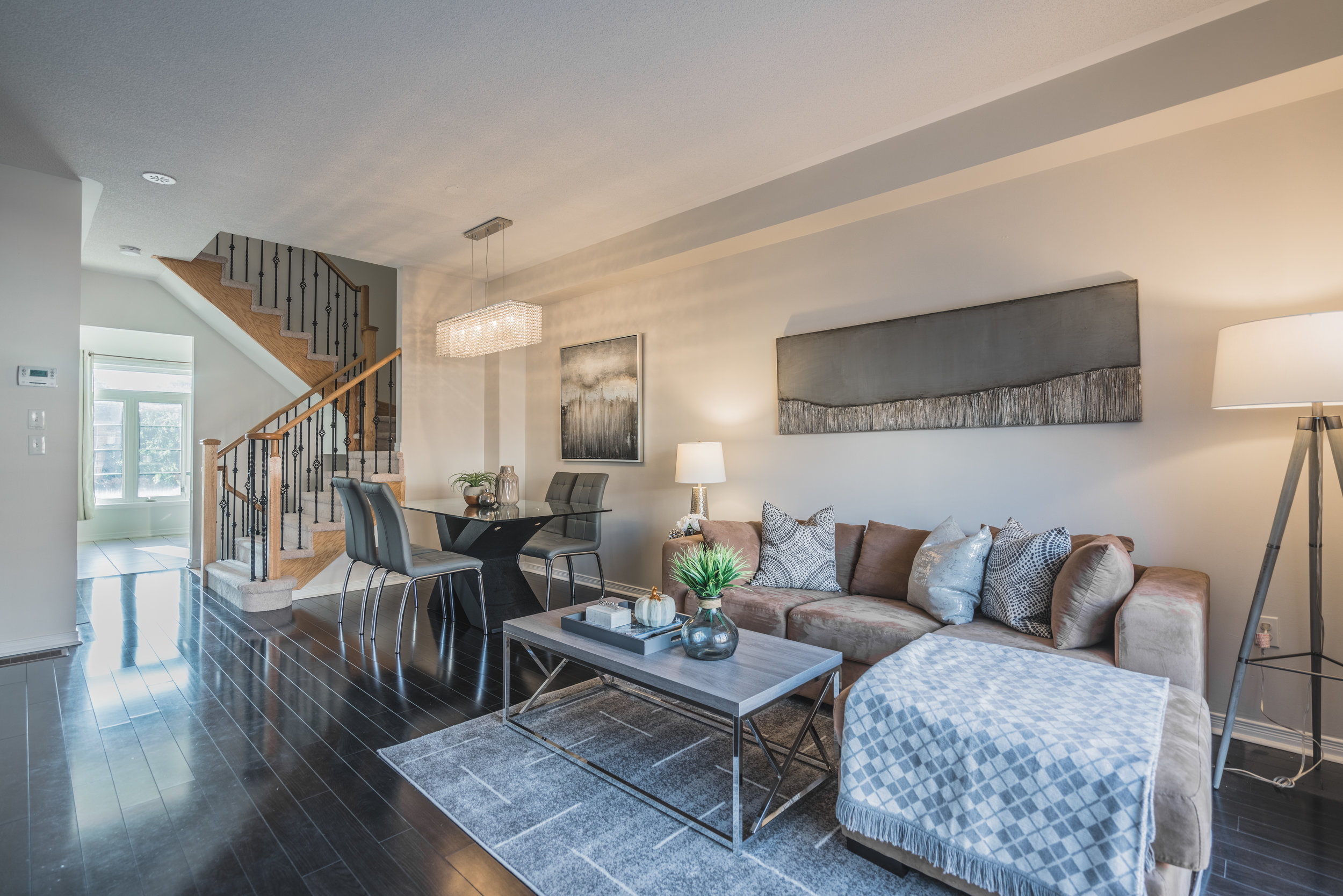 Beehive Markham occupied home staging home stager | Classy Glam Staging 3