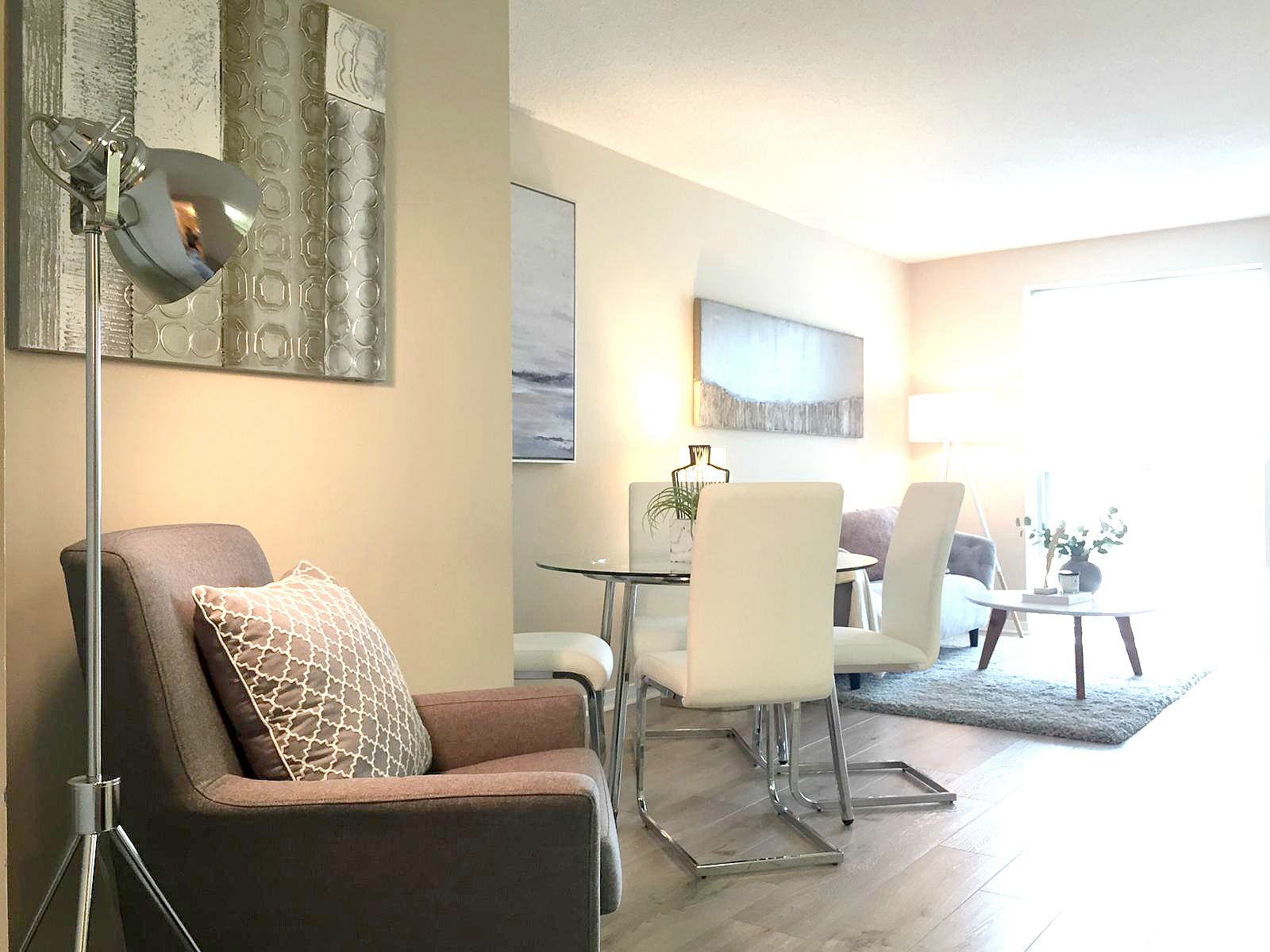 Princess Place III Condo North York vacant condo staging stager | Classy Glam Staging 1