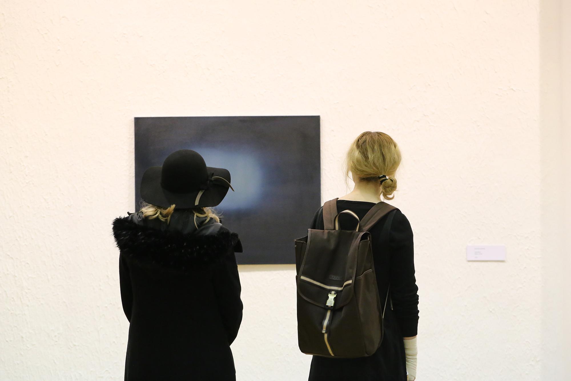 Exhibition view of  Overlapped , by Rosanda Sorakaitė